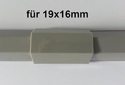Verbinder Mittelstück passend für Kabelkanal 19x16mm von NETPROSHOP bei Lampenhans.de