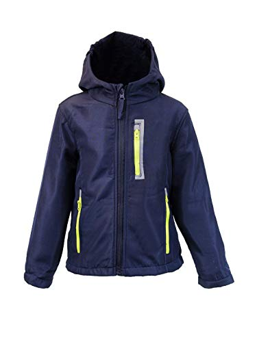 Kinder Jungen Softschelljacke Outdoorjacke Übergangsjacke Jacke Blau Blau 134/140 FALLEN KLEINER...
