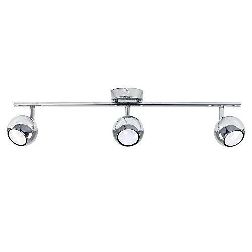 MiniSun - Plafón para el techo vintage con 3 focos - lámpara...