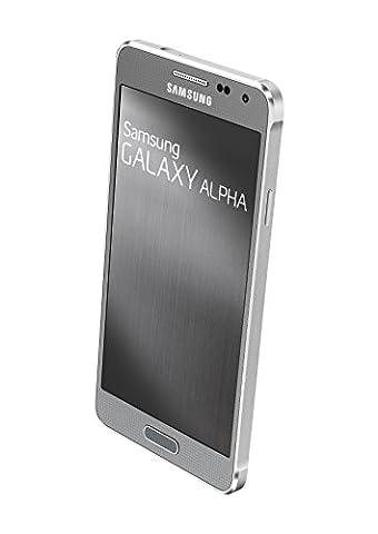 Samsung Galaxy Alpha Smartphone débloqué 4G (Ecran : 4.7 pouces - 32 Go - Android 4.4 KitKat) Argent