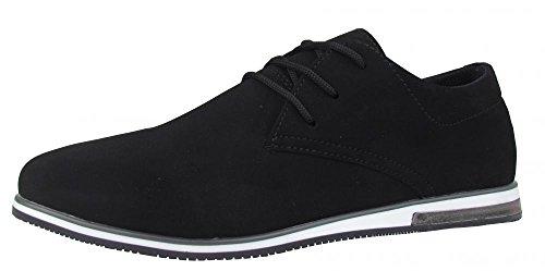 Sneaker - Black Night - schwarz Größe 45