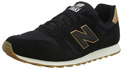 New Balance Ml373bss, Zapatillas para Hombre, Negro (Black/Veg Tan Bss), 42.5 EU