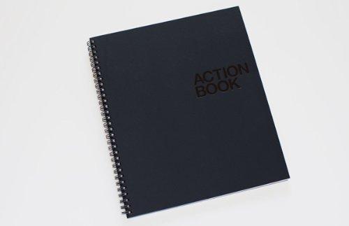 das-action-book-von-action-method-orange-spiralbindung