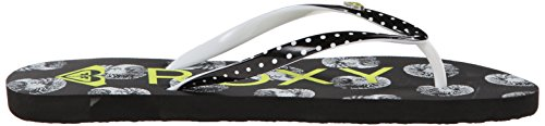Roxy - Mimosa V, Sandali da donna Multicolore (Multicolore (Black/White Print1))