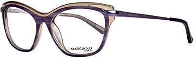 Guess Brille GM022853O24 Monturas de gafas, , 53 para Mujer