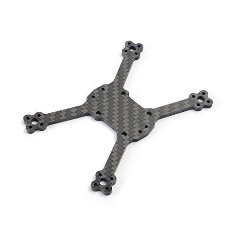 (LaDicha Disühne 2018 gt-R90 Carbon Fiber FPV Racing Drone Ersatzteil Integrierter Rahmen Arm Untere Platte 3mm)