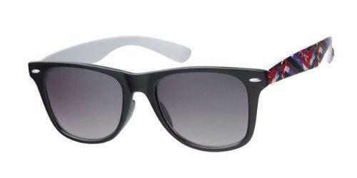 TE-Trend Sonnenbrille Nerdbrille Retro Vintage Auswahl Designs und Farben Größe one size, Farbe...