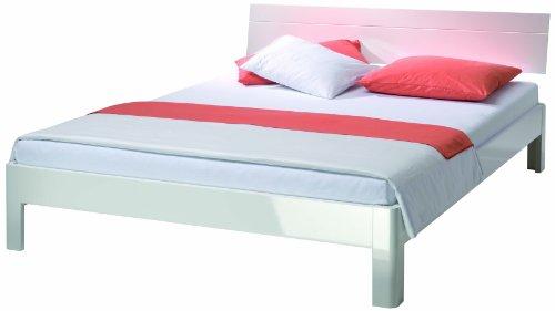 bett weiss hochglanz 160 preisvergleich die besten angebote online kaufen. Black Bedroom Furniture Sets. Home Design Ideas