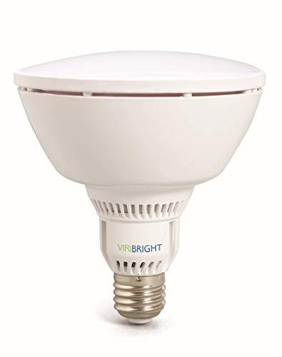 Lampe Birne | CRI ≥ 90 RA | 1100 Lumen | dimmbar | 90° < Winkel | statt 75W - 100W Leuchtmittel PAR 38 Reflektor Strahler 120mm ⌀ | E27 Fassung | (warmweiß IP20) ()