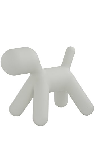 Asiento para niños de Polietileno Magis Me Too Eero Aarnio - Para el interior/exterior - Magis Me Too Puppy small Perro blanco