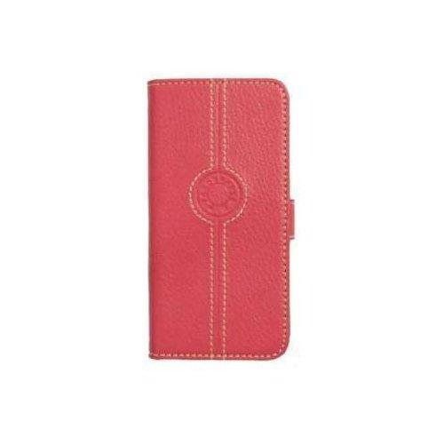 Faconnable Ledertasche Bookstyle Pink für Apple iPhone 5/5S