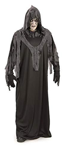 Horror-Shop Midnight Ghoul - Ghoul Robe Für Erwachsene Kostüm