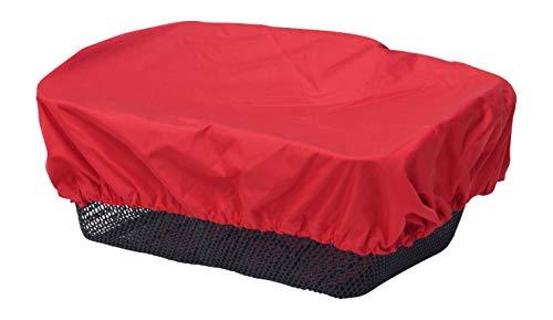 NICE \'n\' DRY Abdeckung und Regenschutz für Fahrradkorb rot
