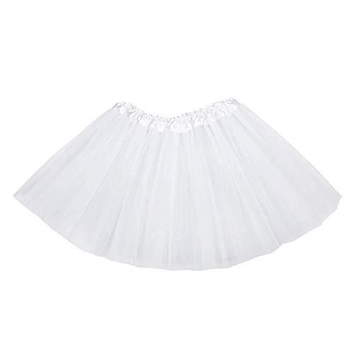 OcioDual Tutu El/ástico de Tul 3 Capas Falda Ballet Danza Disfraz Cosplay