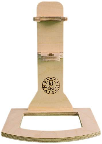Getzoo Tränke aus Holz + Classic® Trinkflasche 150 ml - 4