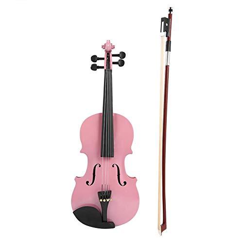 ponte e panno per lucidatura arco colofonia Violino Aileen 1//4 di quarto per principianti Abito fatto a mano vintage con custodia rigida