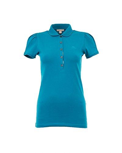 758269aedb30 BURBERRY BRIT Polo pour Femme YSM70254 Bleu Hydrojen Blue Dégagement ...