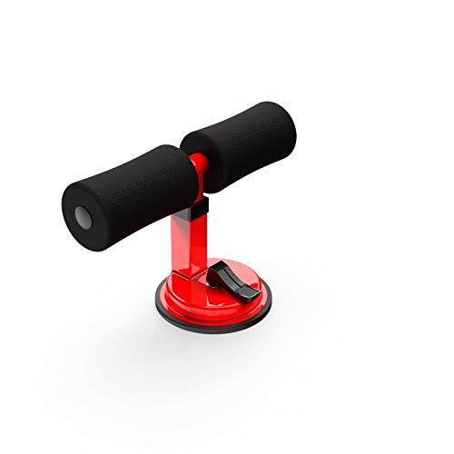 ATAA Soporte de Abdominales con Ventosa SitUp Maquina de Fitness y Gimnasio en casa - Rojo