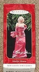 1 X Hallmark Keepsake Ornament Marilyn Monroe 1st New Collector's Series 1997 by Keepsake Ornament