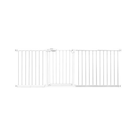 Barrière de sécurité HUYP Porte De Sécurité pour Enfants pour Chiens Extensions pour Portes De Sécurité Escaliers Clôture Chien Blanc (Size : 225-234cm)