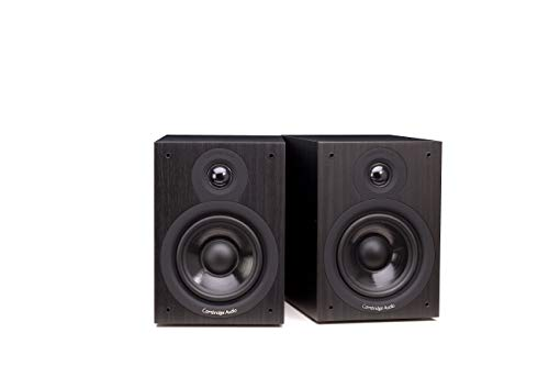 Cambridge Audio SX-50, Bookshelf-Lautsprecher pro Paar (Schwarz)