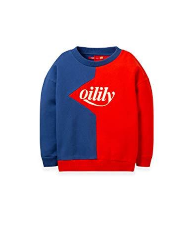 Oilily Heritage Sweatshirt Rot-Blau YF19GHJ212