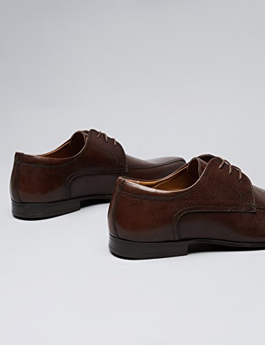 FIND Alias Lace Up, Derby Homme Marron (Brown)