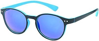 Gafas de sol Chic-Net sobre John Lennon señala 400UV cerradura colores neón puente