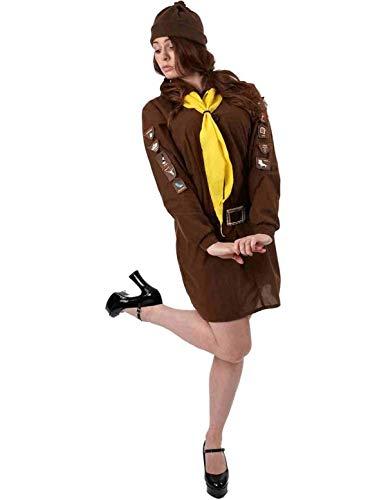 Abenteuer Mädchen Pfadfinder Kostüm für Fasching Verkleidung Damen Extra ()