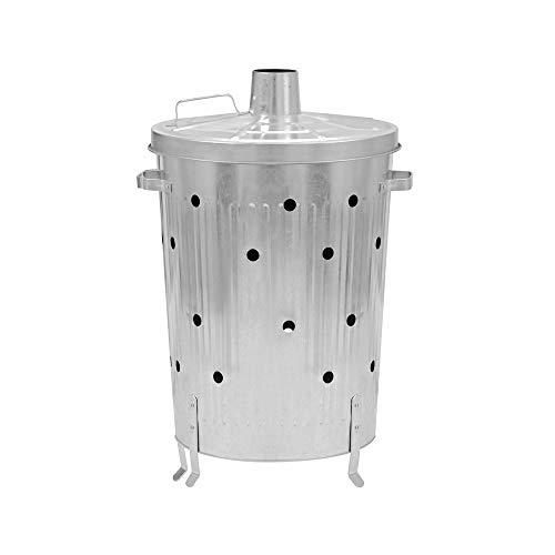 OSE Incinérateur de Jardin/Grille Herbes galvanisé 72L