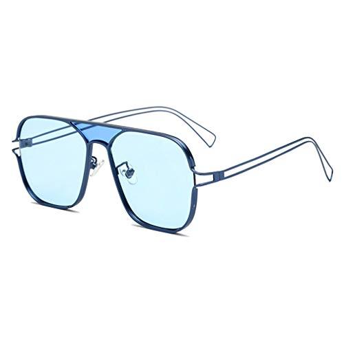 JiXuan New UV Sonnenbrillen Trend Sonnenschirm Outdoor Persönlichkeit Aviator Sonnenbrille UV400 C4