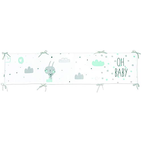 Protector desenfundable cuna 60/70/80 (43 x 185 cm) OH BABY