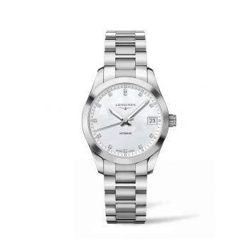 Longines Reloj de mujer automático 34mm correa de acero caja de L23854876