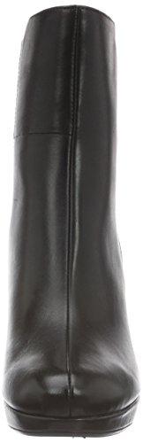 Clarks Damen Kendra Porter Kurzschaft Stiefel Schwarz (Black Leather)