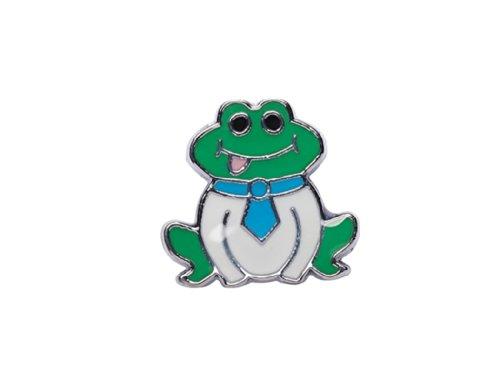 La Loria 2 Charms Frosch Frog Kinder Sneakerbugs Schuhschmuck für die Schnürsenkel