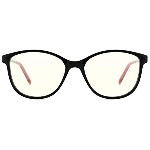 TIJN Blaulichtfilter Gaming Brillen Computer Gläser für PC Handy und Fernseher blockierung uv Brillen Anti- Ermüdung