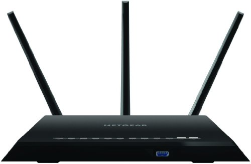 Price comparison product image NETGEAR R7000-100UKS Nighthawk AC1900 Dual Band Wireless Gigabit 11AC Gaming Router (1.0 GHz Dual-Core Processor, USB 3.0, Gigabit Ethernet) Open Source Available (Amazon Echo Enabled)