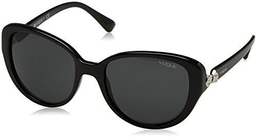 Vogue 0vo5092sb w44/87 53, occhiali da sole donna, nero (black/grey)