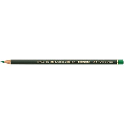 Faber-Castell CASTELL DOCUMENT – Lápiz de color Verde paquete de 12 unidades