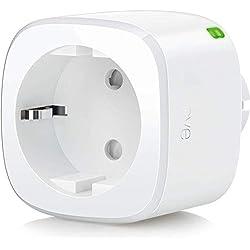 Eve Energy - Prise intelligente avec compteur de consommation, programmes intégrés, contrôle vocal, sans passerelle intermédiaire, Bluetooth Low Energy (Apple HomeKit)