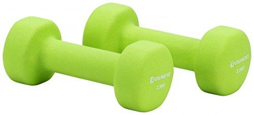 ENERGETICS Hanteln Neopren grün (400) 2,5