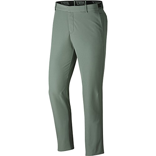 Nike Herren Flex Slim Golf Hose, Herren, Flex Pant Slim, Clay Green/Black, 38W X 34L