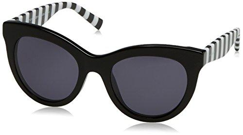 Tommy Hilfiger Damen Sonnenbrille TH 1480/S IR 807 51, Schwarz (Black/Grey Blu) Preisvergleich