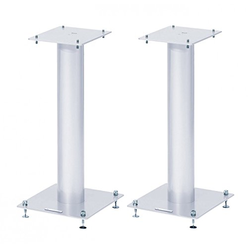 Norstone Ständer für Lautsprecher Stylum 1, 50cm, Weiß -