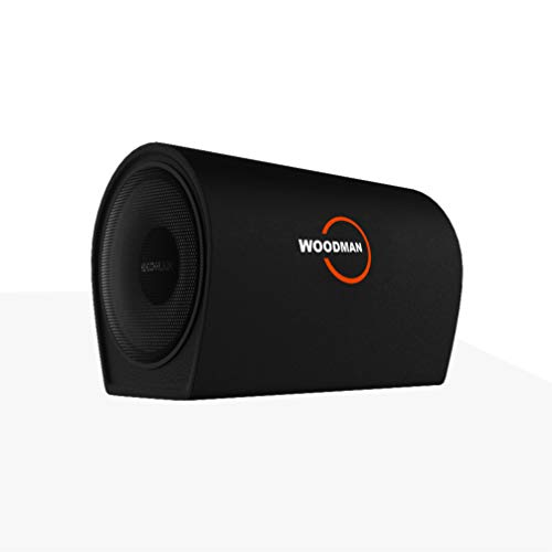 Buy Woodman BT8 8-inch Compact Bass Tube with in-Built Amplifier (Black) online in India at discounted price