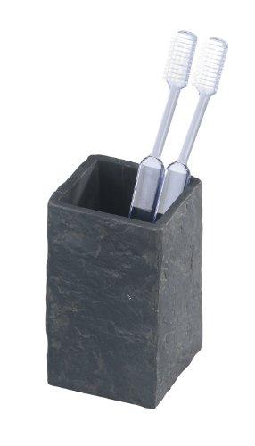 Wenko Vaso de dientes Slate Rock