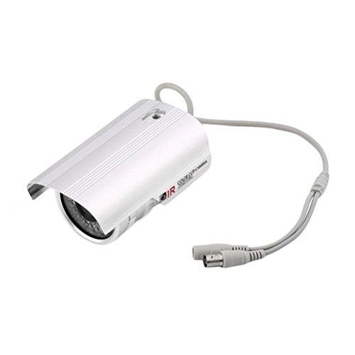 LEDMOMO Startseite CCTV Überwachungskamera 1/3 Zoll CCD Wasserdicht IP Kamera 1200TVL HD 36 IR LED Überwachungskamera (PAL) Ccd 36 Led