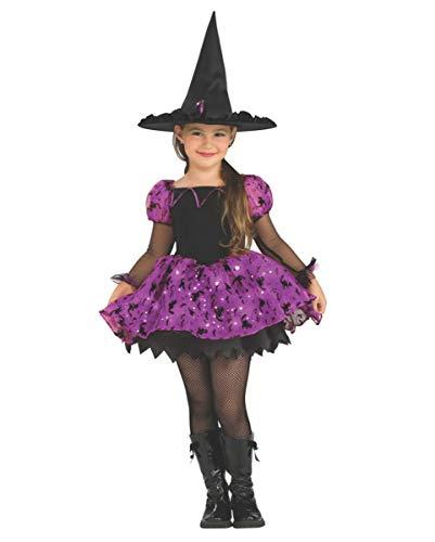 Kostüm Magic Witch Moonlight - Horror-Shop Mondscheinhexe Kinderkostüm mit Leuchteffekt M