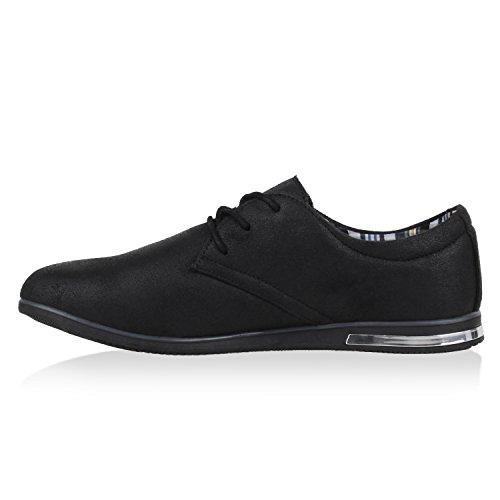 Scarpe Da Uomo Alla Moda Scarpe Da Uomo Di Affari Sneaker Sneaker Sneakers Stampa Scarpe Casual In Pelle Effetto Flandell Nero Nero