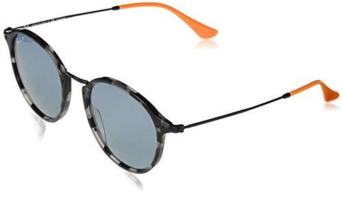 Ray-Ban Herren 0RB2447 124652 49 Sonnenbrille, Grey Havana/Bluepolar,